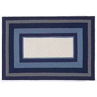 Trans Ocean Imports Liora Manne Newport Multi Border Indoor Outdoor Rug