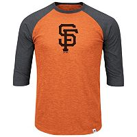 Big & Tall Majestic San Francisco Giants Baseball Tee