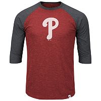 Big & Tall Majestic Philadelphia Phillies Baseball Tee