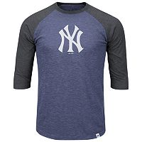 Big & Tall Majestic New York Yankees Baseball Tee