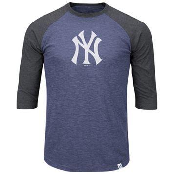 Big & Tall Majestic New York Yankees Baseball Tee