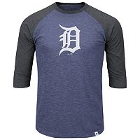 Big & Tall Majestic Detroit Tigers Baseball Tee