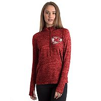 Women's 5th & Ocean by New Era Kansas City Chiefs Space-Dyed Pullover