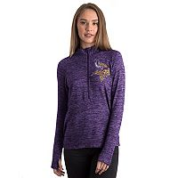 Women's 5th & Ocean by New Era Minnesota Vikings Space-Dyed Pullover