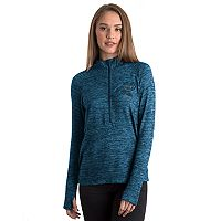 Women's 5th & Ocean by New Era Carolina Panthers Space-Dyed Pullover
