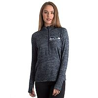 Women's 5th & Ocean by New Era Seattle Seahawks Space-Dyed Pullover