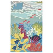Liora Manne Ravella Ocean View Indoor Outdoor Rug