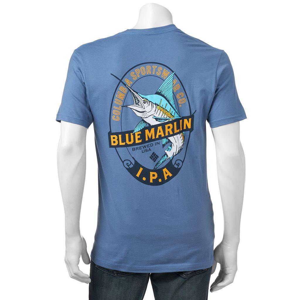 Men's Columbia Blue Marlin IPA Tee