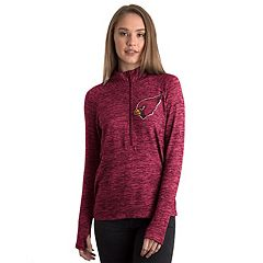 Women's 5th & Ocean by New Era Arizona Cardinals Space-Dyed Pullover