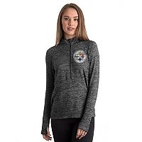 Women's 5th & Ocean by New Era Pittsburgh Steelers Space-Dyed Pullover