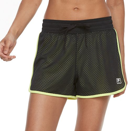 Women's FILA SPORT® Academy Mesh Performance Shorts