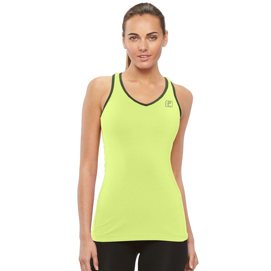 Women's FILA SPORT® Basic Racer Workout Tank Top
