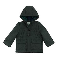 Boys 4-7 Carter's Faux Wool Midweight Toggle Coat
