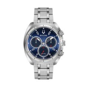 Bulova Men's CURV Stainless Steel Chronograph Watch - 96A185