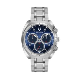 Bulova Men's CURV Stainless Steel Chronograph Watch - 96A185