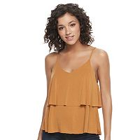 Juniors' Mudd® Tiered Flutter Tank