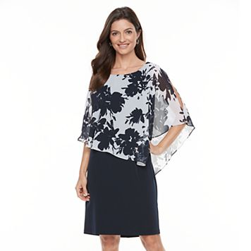 Women's Connected Apparel Popover Floral Dress