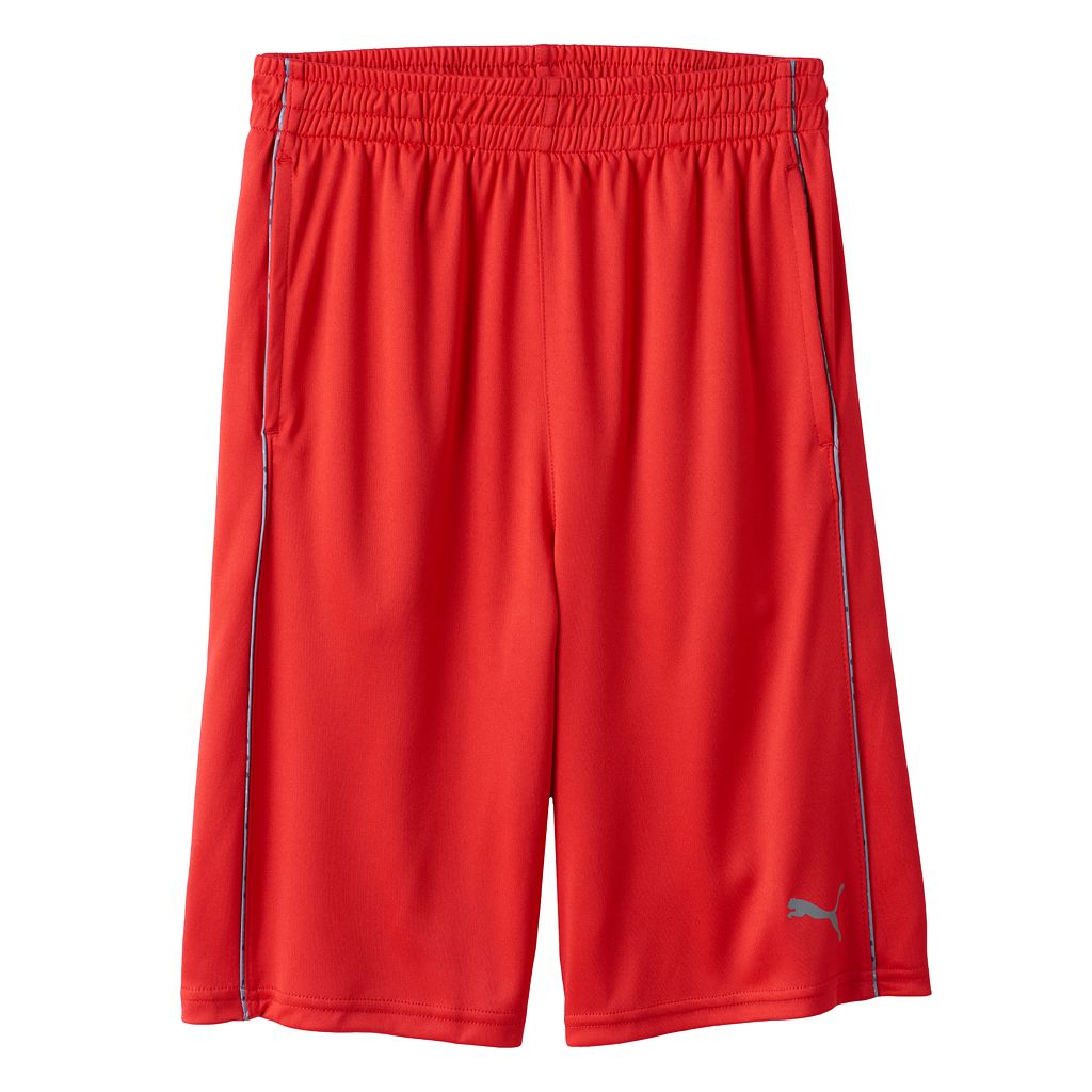 Boys 8-20 PUMA Small-Stripe Shorts