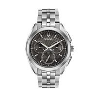 Bulova Men's CURV Stainless Steel Chronograph Watch - 96A186