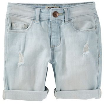 Girls 4-12 OshKosh B'gosh® Cuffed Denim Shorts