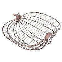 Celebrate Fall Together Wire Pumpkin Bread Basket