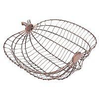 Harvest Wire Pumpkin Bread Basket