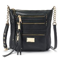 Juicy Couture Triple Zipper Crossbody Bag