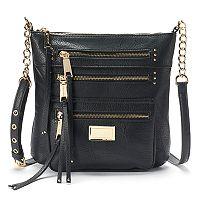 Juicy Couture Triple Zipper Crossbody Bag