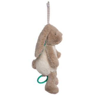 Manhattan Toy Woodland Babies Bellamy Bunny Pull Musical Plush