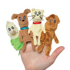 Dr. Seuss 'What Pet Should I Get?' Finger Puppet Set by Manhattan Toy