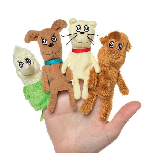 "Dr. Seuss ""What Pet Should I Get?"" Finger Puppet Set by Manhattan Toy"