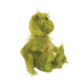 Dr. Seuss Grinch With Light-Up Heart Plush by Manhattan Toy