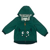 Toddler Boy Carter's Monster Face Lightweight Rain Jacket