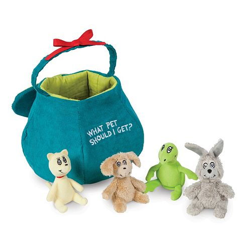 """Dr. Seuss """"What Pet Should I Get?"""" Play Set by Manhattan Toy"""