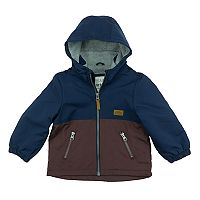Toddler Boy Carter's Colorblocked Fleece-Lined Midweight Barn Jacket