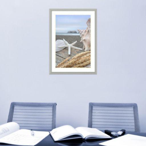 Amanti Art Rodeo Beach Shells 12 Framed Wall Art