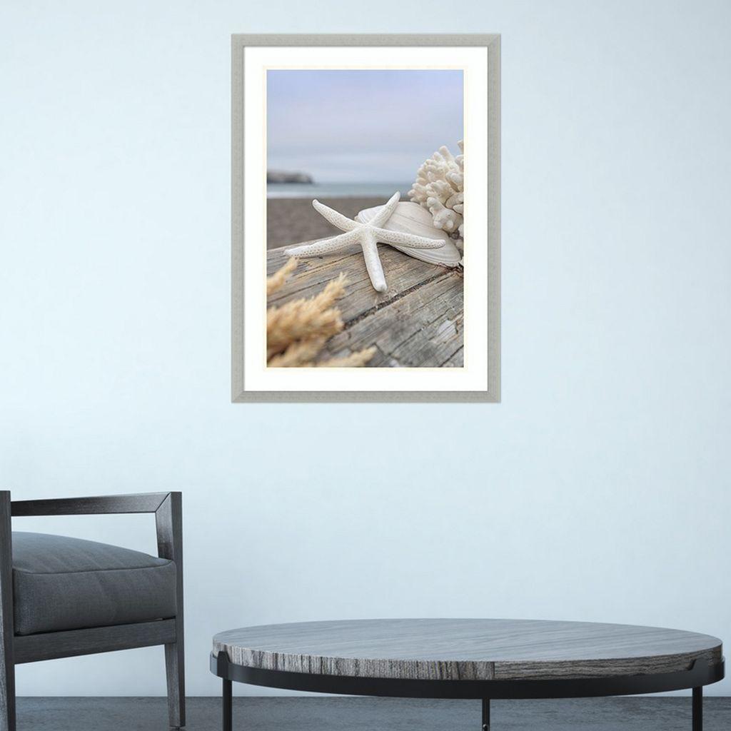 Amanti Art Rodeo Beach Shells 13 Framed Wall Art