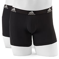 Men's adidas 2-pack climalite Performance Trunks