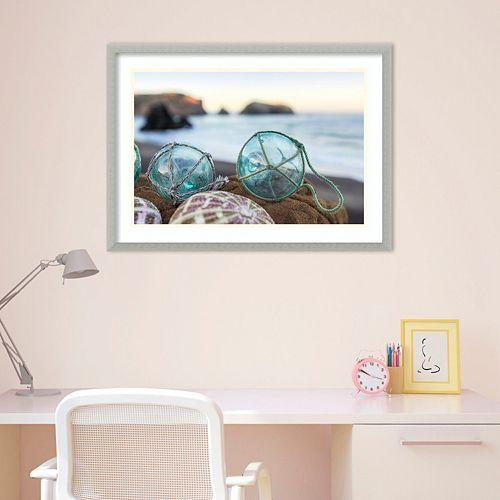 Amanti Art Rodeo Beach Shells 16 Framed Wall Art