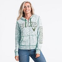 Women's Milwaukee Bucks Space-Dyed Hoodie