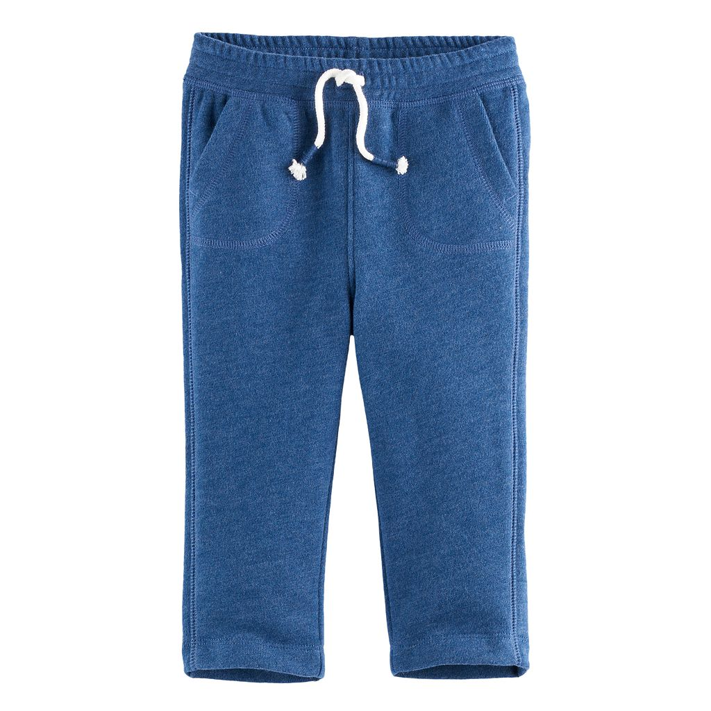 Baby Boy Jumping Beans® Straight Leg Fleece Pants