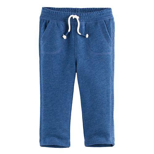 Baby Boy Jumping Beans® Straight Leg Fleece Pants