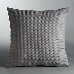 Simply Vera Vera Wang Waffle Throw Pillow
