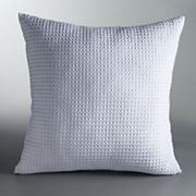 Simply Vera Vera Wang Waffle Throw Pillow