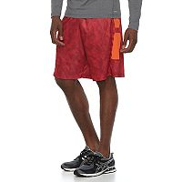 Men's Tek Gear® Printed Laser-Cut Basketball Shorts