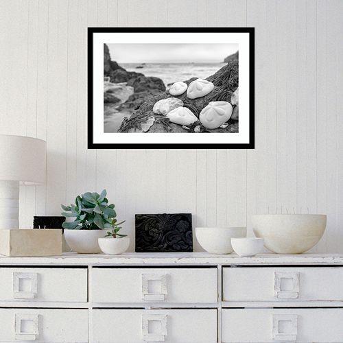 Amanti Art Rodeo Beach Shells 4 Framed Wall Art