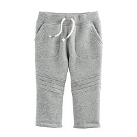 Baby Boy Jumping Beans® Quilted Knee Fleece Pants