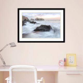Amanti Art Rodeo Beach Waves 2 Framed Wall Art
