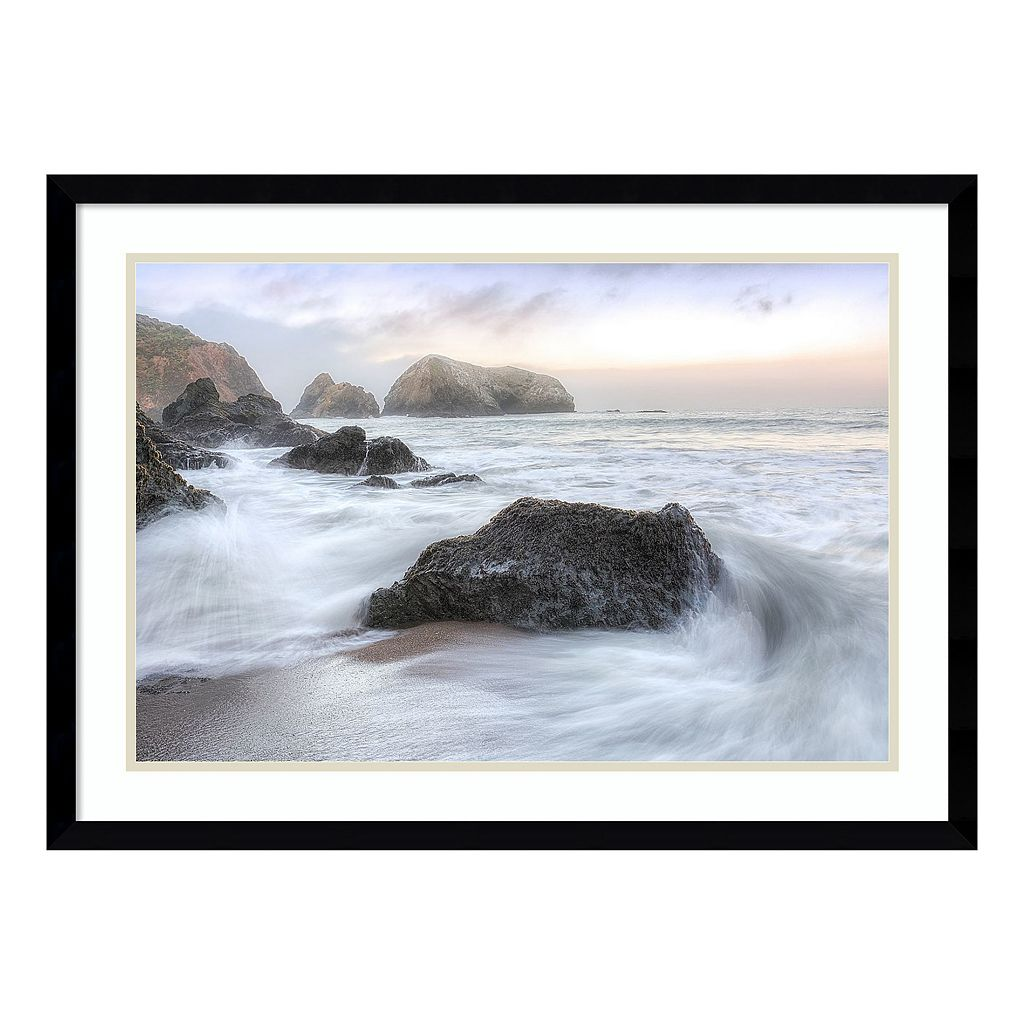 Amanti Art Rodeo Beach Waves 2 Framed Wall Art