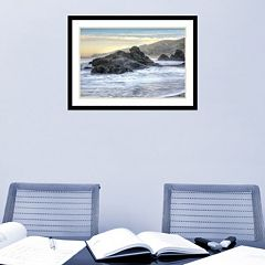 Amanti Art Rodeo Beach Waves 4 Framed Wall Art